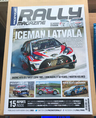 Pacenotes Rally Magazine - Issue 153 / March 2017