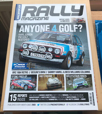 Pacenotes Rally Magazine - Issue 154 / April 2017