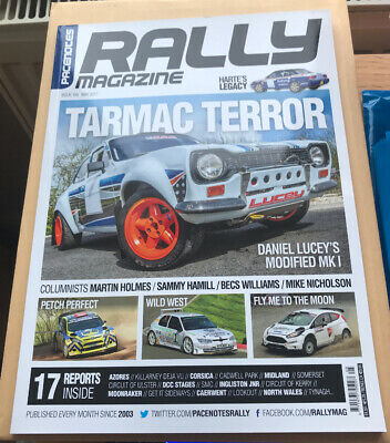 Pacenotes Rally Magazine - Issue 155 / May 2017