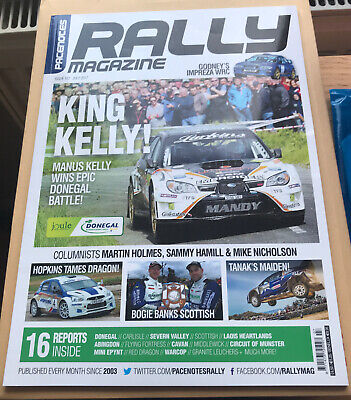 Pacenotes Rally Magazine - Issue 157 / July 2017