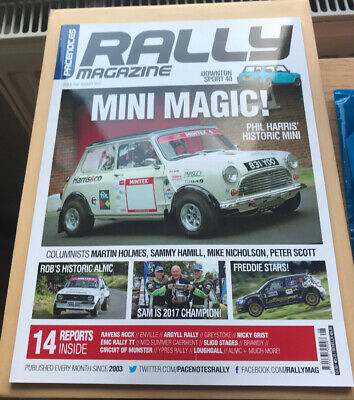 Pacenotes Rally Magazine - Issue 158 / August 2017