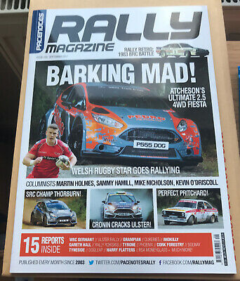 Pacenotes Rally Magazine - Issue 159 / September 2017