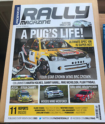 Pacenotes Rally Magazine - Issue 160 / October 2017