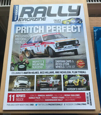 Pacenotes Rally Magazine - Issue 161 / November 2017
