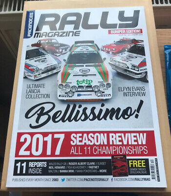 Pacenotes Rally Magazine - Issue 162 / December & January 2018