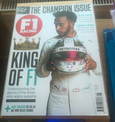 F1 Racing - Issue 275 / January 2019