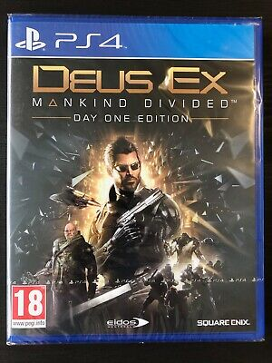 Deus Ex: Mankind Divided Day One Edition | PlayStation 4 PS4 | New & Sealed