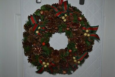40cm diameter Christmas Front Door Wreath - #JD