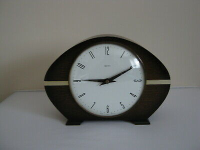 Mantel Clock - Smith Industries Limited - Made in Great Britain with key