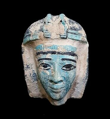Rare Osiris bust Egyptian Statue God Ancient Figurine Afterlife Egypt Dead Isis