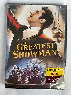 The Greatest Showman - Movie Plus Sing-Along  DVD SEALED