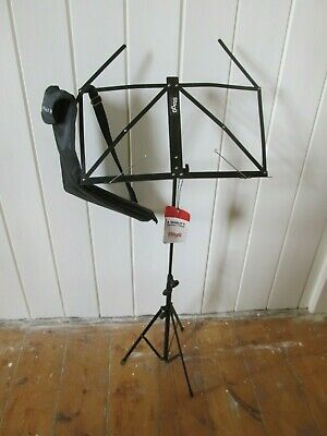 Stagg Adjustable Height Music Stand with Bag BNWT