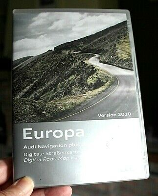Dvd Audi Navigation Europa Central-East (N° 2)