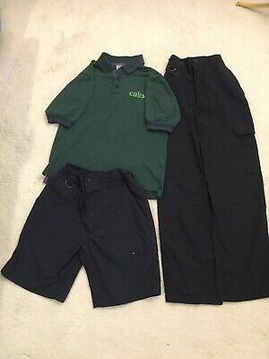 9-10 Years Scout Cubs Trousers ,Polo and Shorts