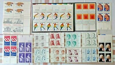 Lot of Different MINT US Postage Stamps, unused face value $16.30
