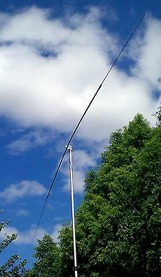 Shark FM-mini 75 Meter HF Single Band Mobile Ham Radio Stick Road Antenna Black