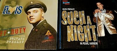 Elvis Presley Lot Off Duty + Such a Night MRS