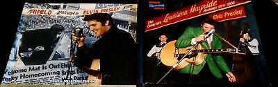 Elvis Presley Lot Tupelo Welcomes + Louisiana Hayride Archives MRS
