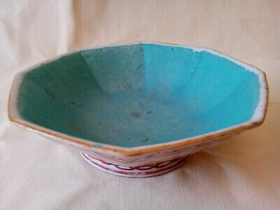 Antique Chinese Tongzhi period Qing dynasty Spoon Rest Bowl