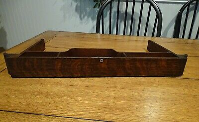 Antique Singer Treadle Sewing Machine Oak  Center Drawer, Parts  # 2
