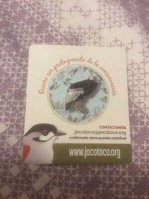 Not RSPB Pin Badge Jocotoco Andean Condor