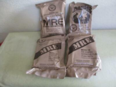 4 US Military MRE  Meals Ready to Eat
