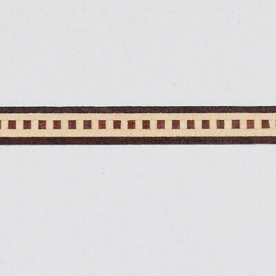 Lot of Five - Minute Dental - Buffard Frères Marquetry Banding Strips (Inlay-81)