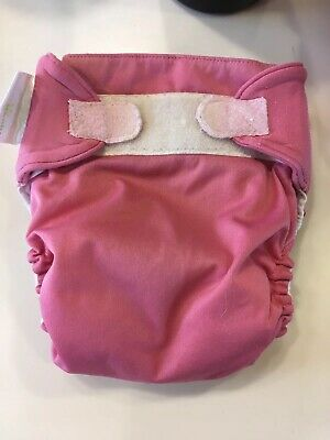 Lot Of 9- BumGenius AIO Cloth Diapers Size Large