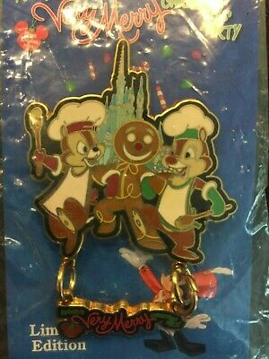 Disney Pin - WDW - Mickey's Very Merry Christmas Party 2004 (Chef Chip & Dale)