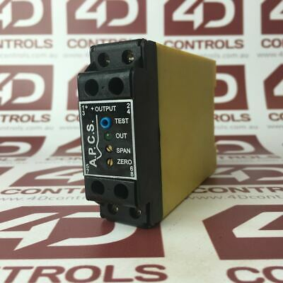 SI239-12110 | A.P.C.S | DC Signal Converter 2000Vrms Isolation - Used