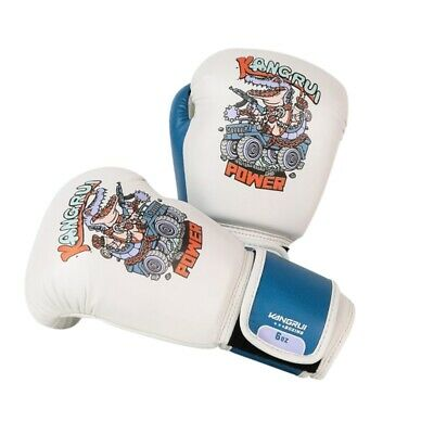 1pair Children's Boxing Gloves Durable Faux Leather Punching Bag Training Mitten