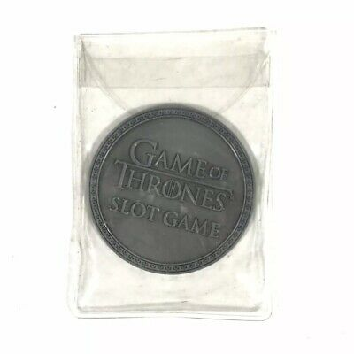 Rare Game Of Thrones HBO Slot Machine Game Token Silver