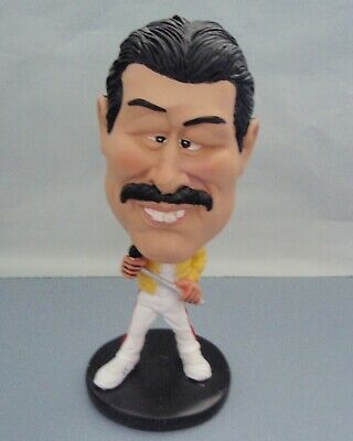 Queen Lead Singer: Freddie Mercury Bobble Head Figurine * New In Box *