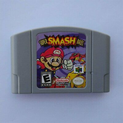 Newest Nintendo N64 Game: Super Smash Bros Video Game Card US/CAN Version Y3L6E