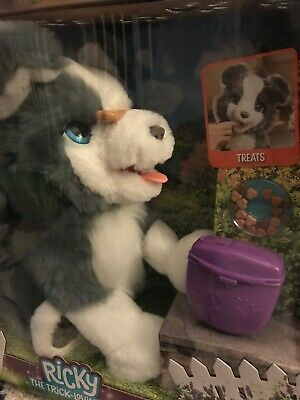 FurReal Ricky Trick Lovin Pup Dog  100+ Sound & Motion Combinations New Toy