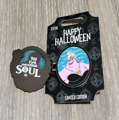 Disney Parks 2019 Happy Halloween Ursula Pin
