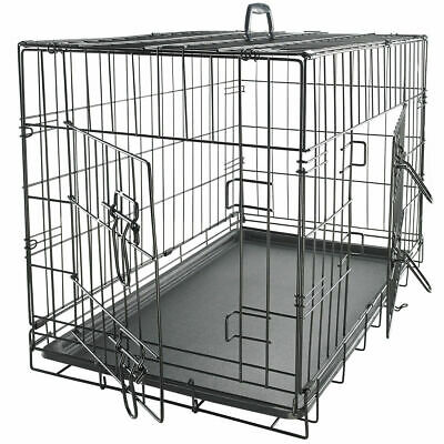 Dog Crate Kennel Cage for Pet Plastic Pad Pan Soft Cozy House Kit Playpen Lot