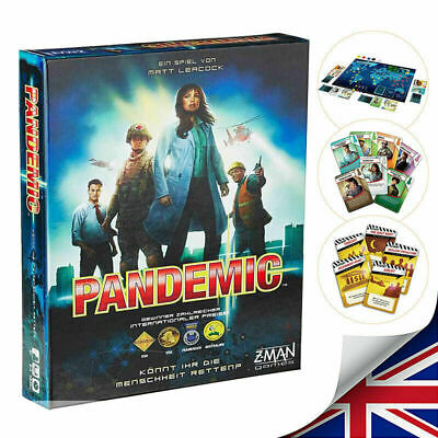 Z-Man Games - Pandemic Board Game Ages 10 and Up
