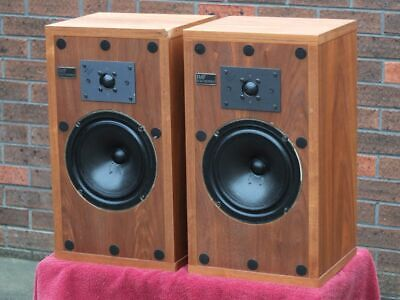 IMF Compact Monitor CM2A vintage speaker pair.