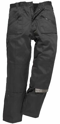 Portwest Workwear Trousers Pants Action With Back Elastication Pockets