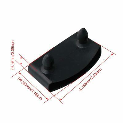 50Pcs Black Single End Caps Bed Slat Holders Contains Replacement for Holding an