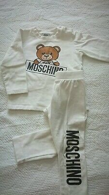 Moschino Baby Top And Leggings Set 18-24 Months RRP £100