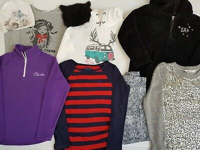 Girls winter clothes bundle,age 8-9 years, Fat Face, Ralph Lauren,Gap,H&M