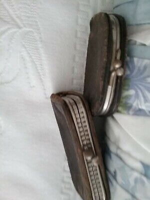 Two Vintage Leather Purses p1930S 1940s ???