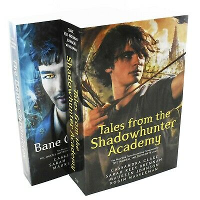 Bane Chronicles Series 2 Books Young Adult Collection Paperback Cassandra Clare