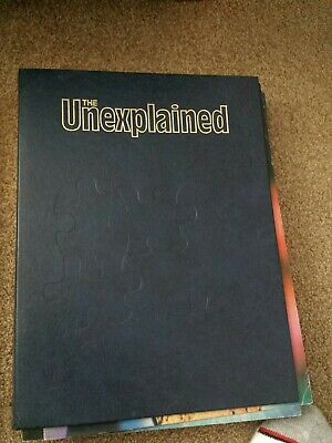 The unexplained magazines. Magazines 1-17 & 18-34