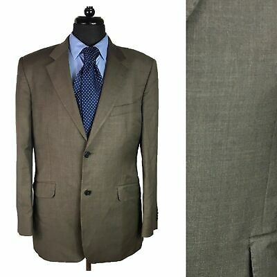Simon Carter Mens Blazer Size 38R Single Breasted Wool Suit Jacket