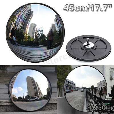 "18""/45cm Wide Angle Security Curved Convex Road Safety Traffic Mirror Driveway"