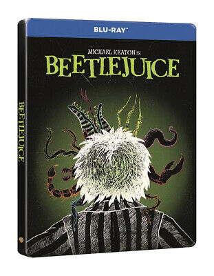 Beetlejuice Limited Edition Steelbook Blu Ray
