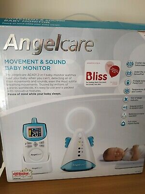 ANGELCARE AC401 MOVEMENT & SOUND BABY MONITOR + SENSOR PAD. Lovely Condition.